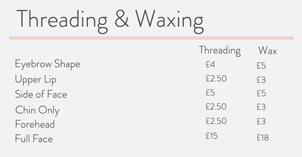 Eli's Hair and Beauty threading and waxing